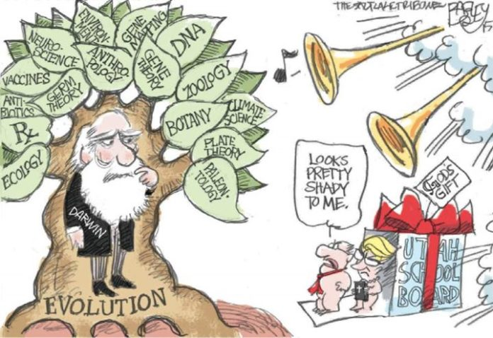 Darwin and His Theory of Evolution and conflicts 3