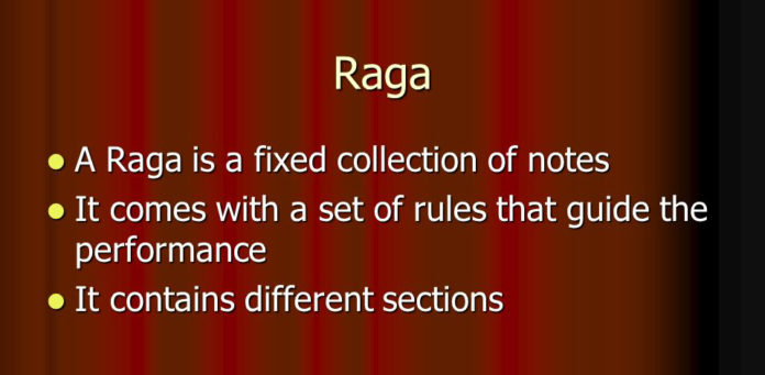 The Raga Guide When should play an Indian classical music